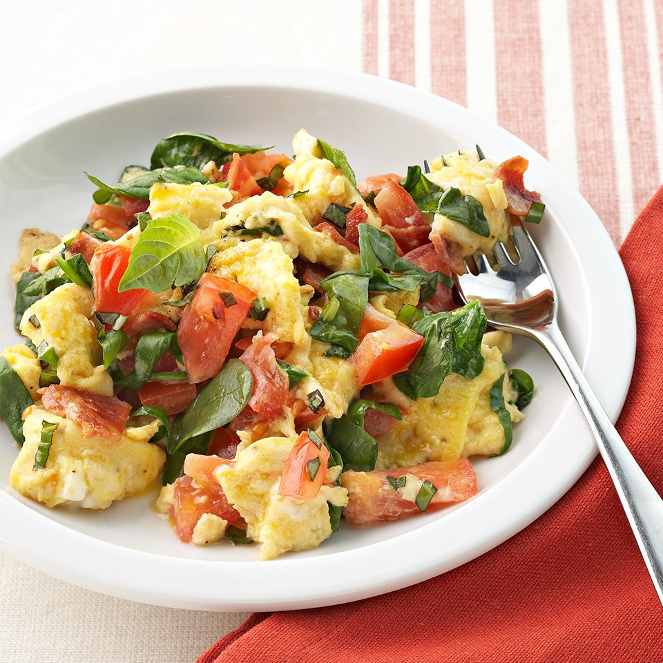 Bacon & Tomato Scramble