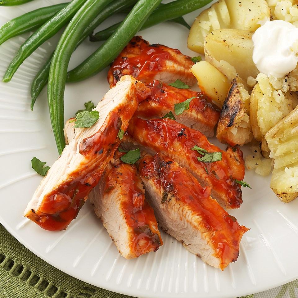 Barbecue Glazed Turkey