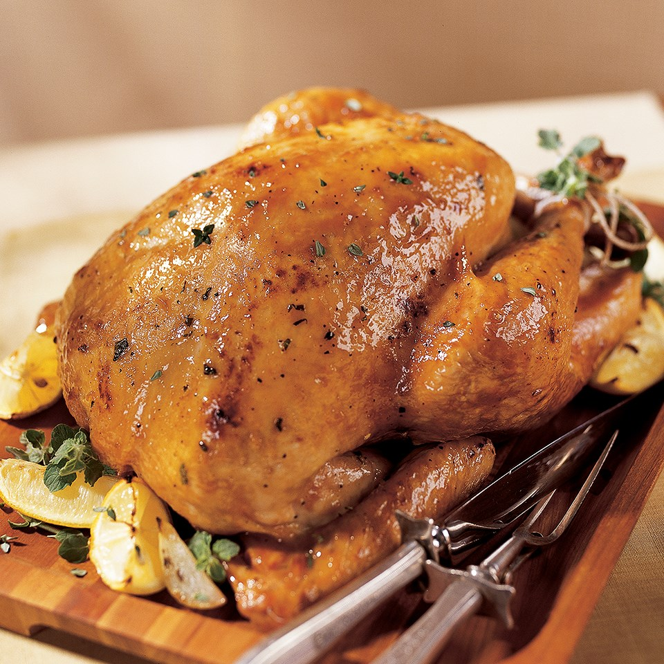 Maple-Glazed Turkey