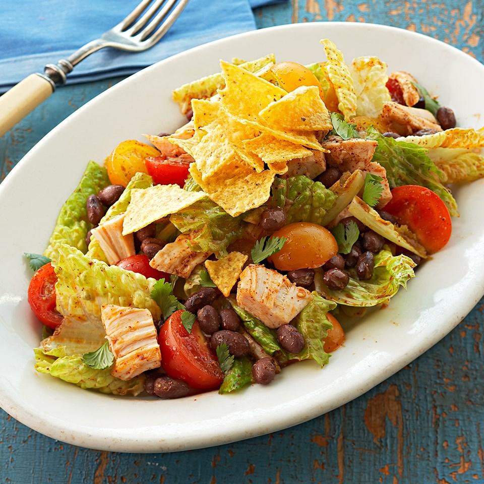 Southwestern Chicken & Black Bean Salad