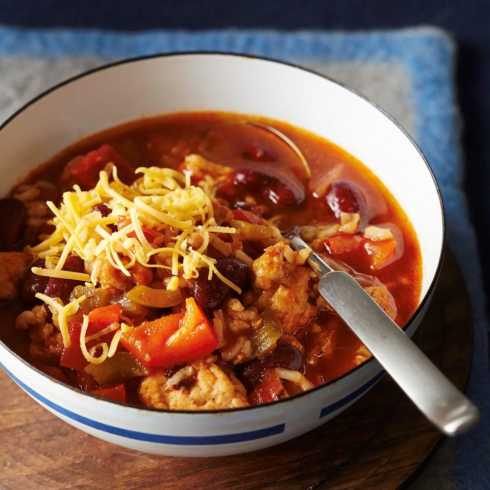 Turkey & Brown Rice Chili