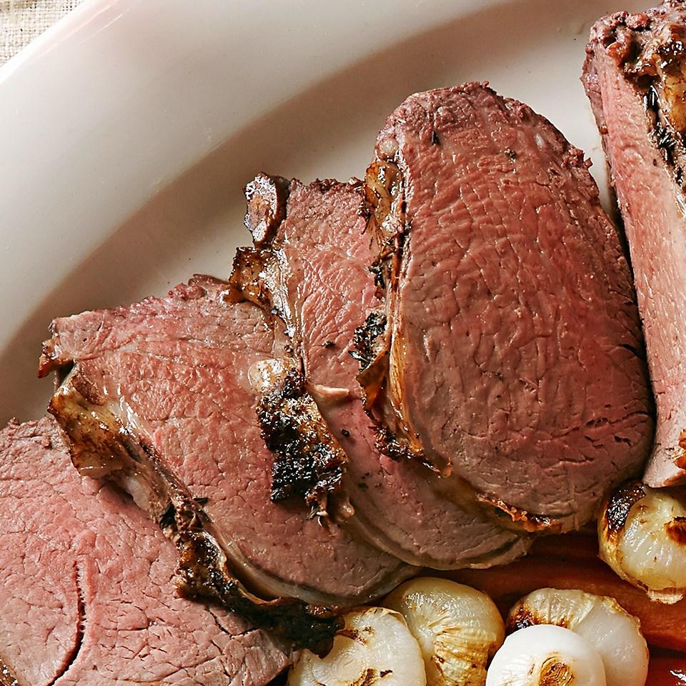 Mushroom & Thyme Roasted Beef Tenderloin
