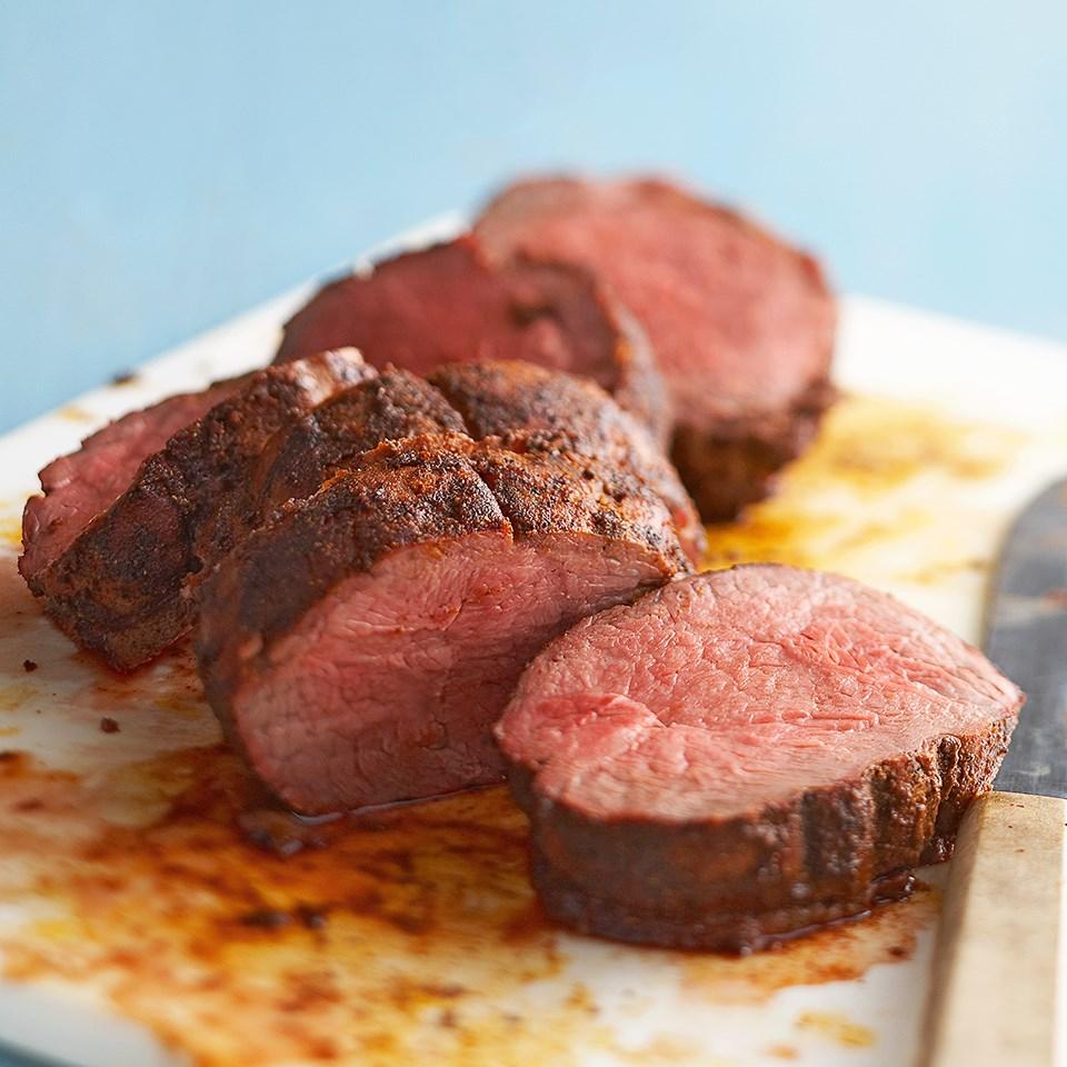 Spice-Rubbed Beef Tenderloin