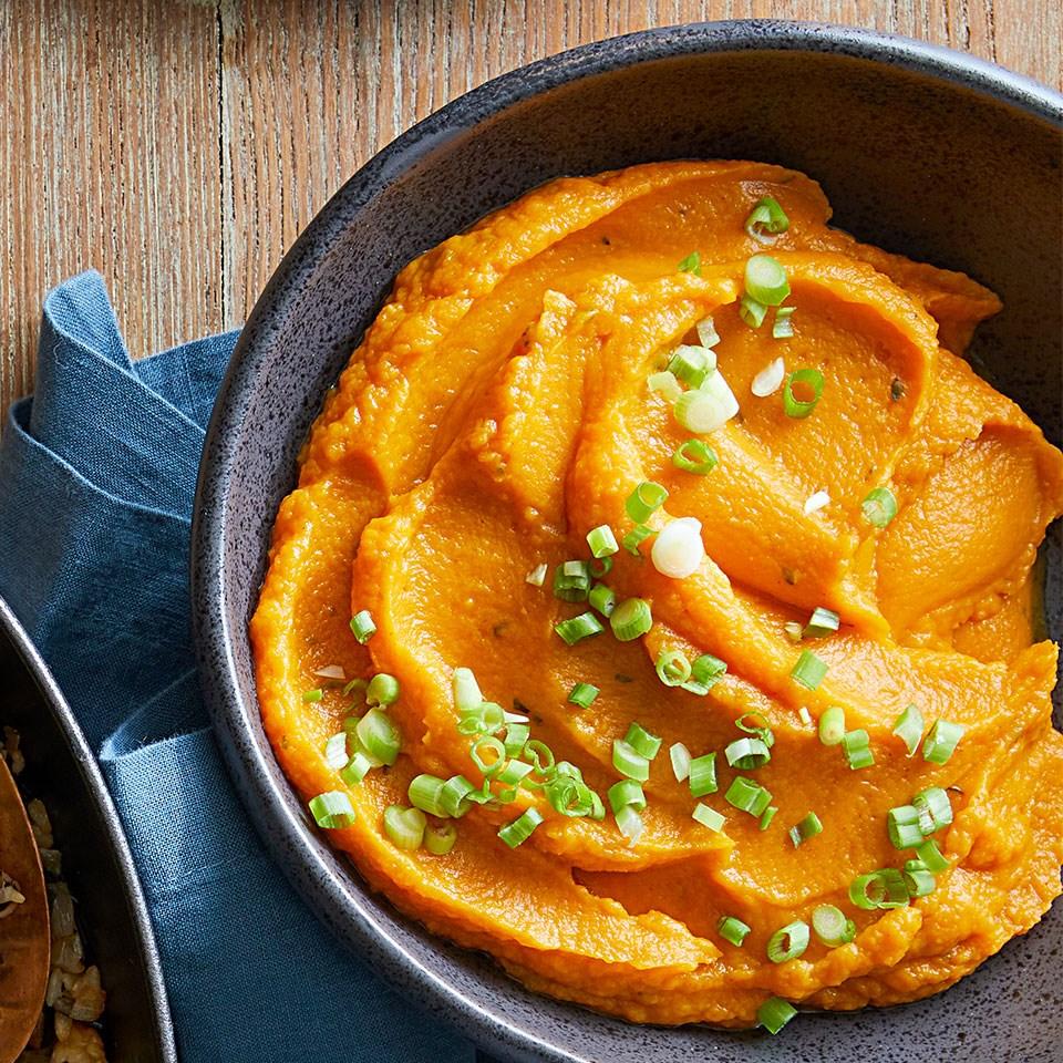 Smoky Mashed Sweet Potatoes