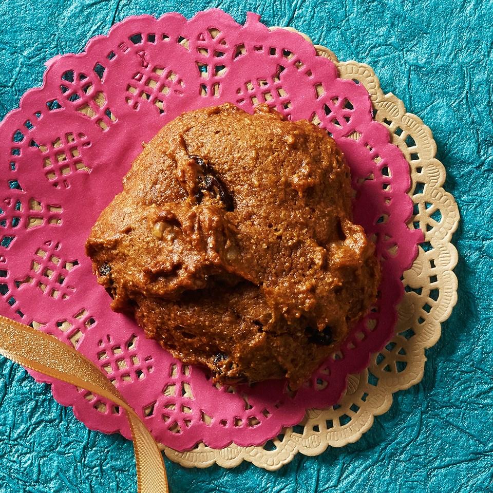 Spiced Pumpkin Walnut Cookies
