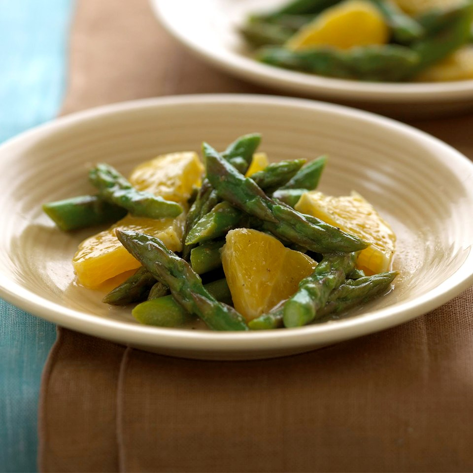 Orange-Asparagus Salad