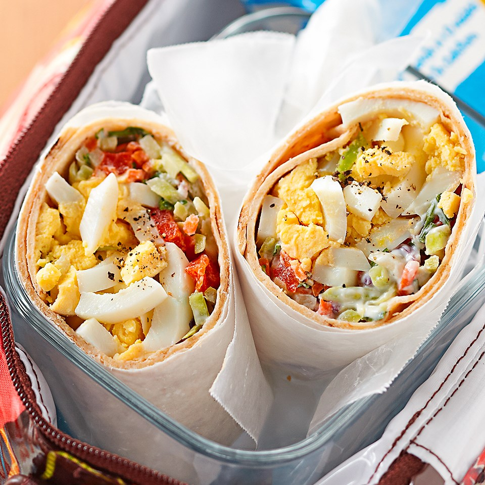 Egg & Broccoli Slaw Wrap