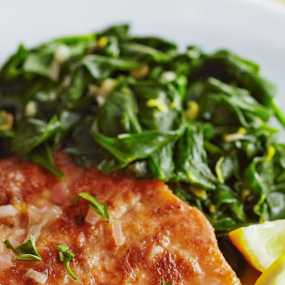 Sautéed Spinach