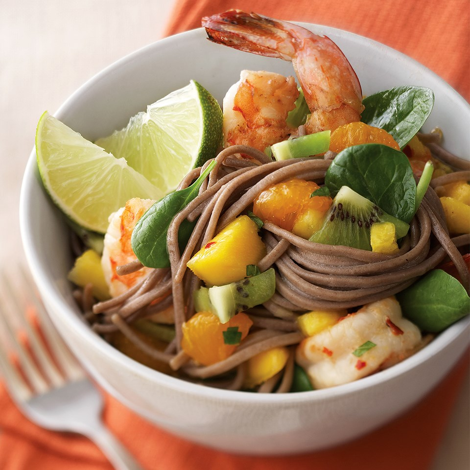 Ginger Shrimp & Vermicelli Salad