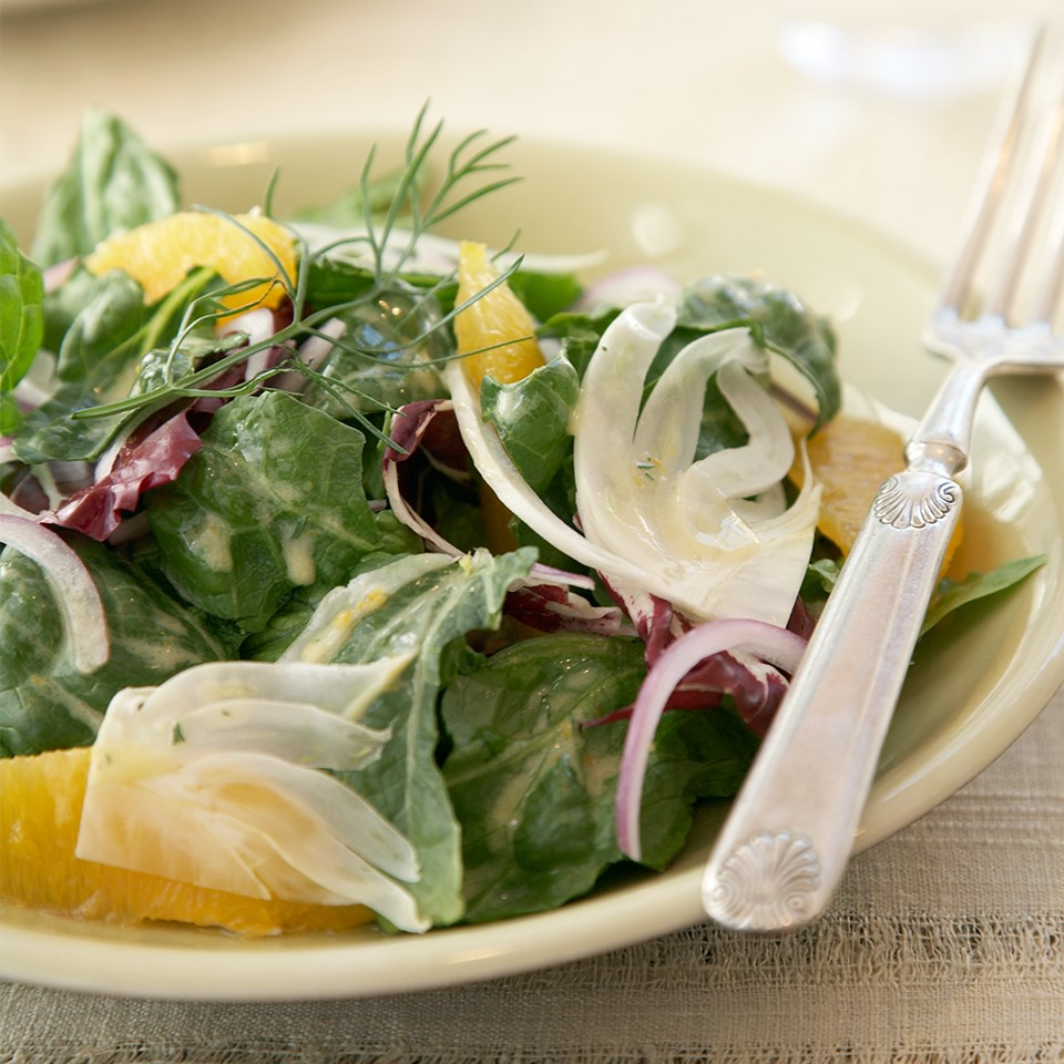Orange & Fennel Salad with Citrus Vinaigrette