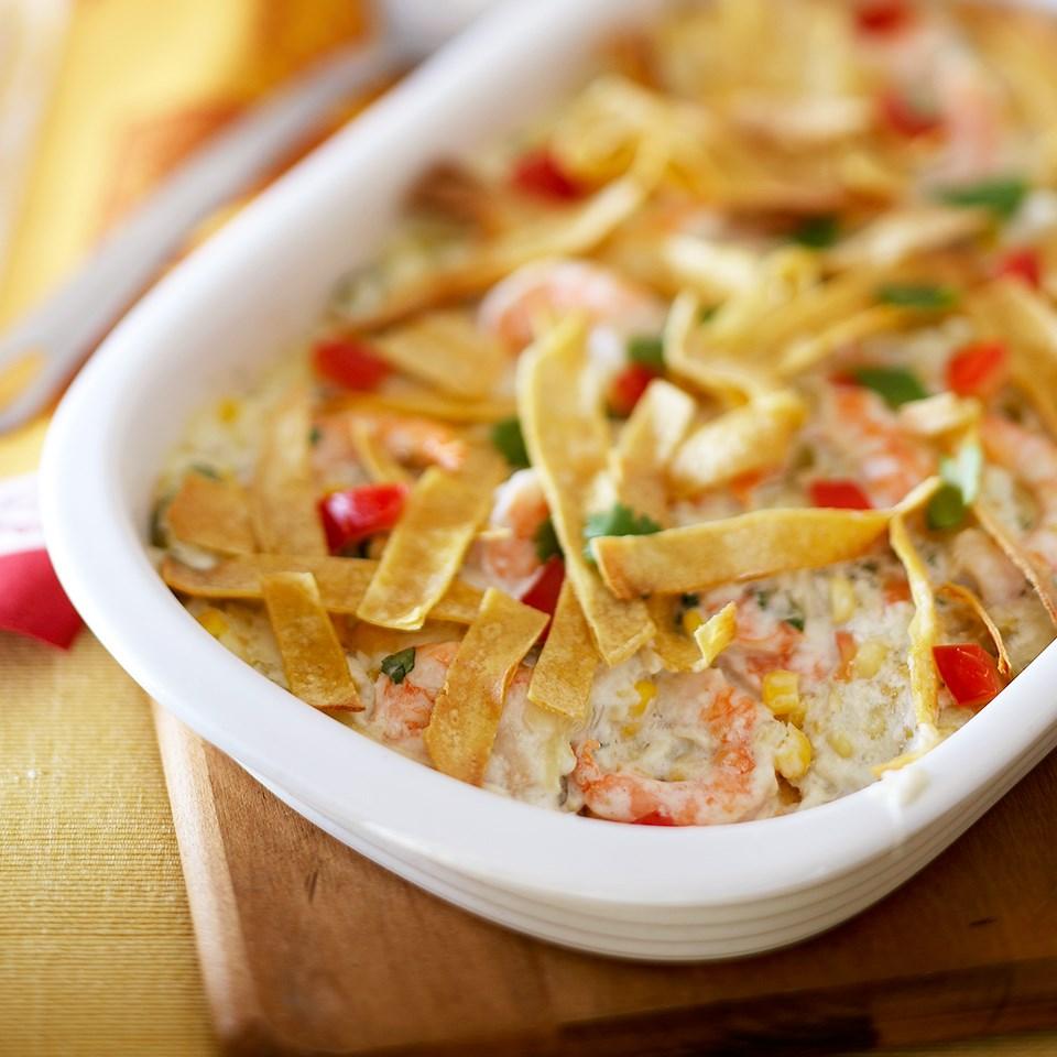Spicy Shrimp Casserole