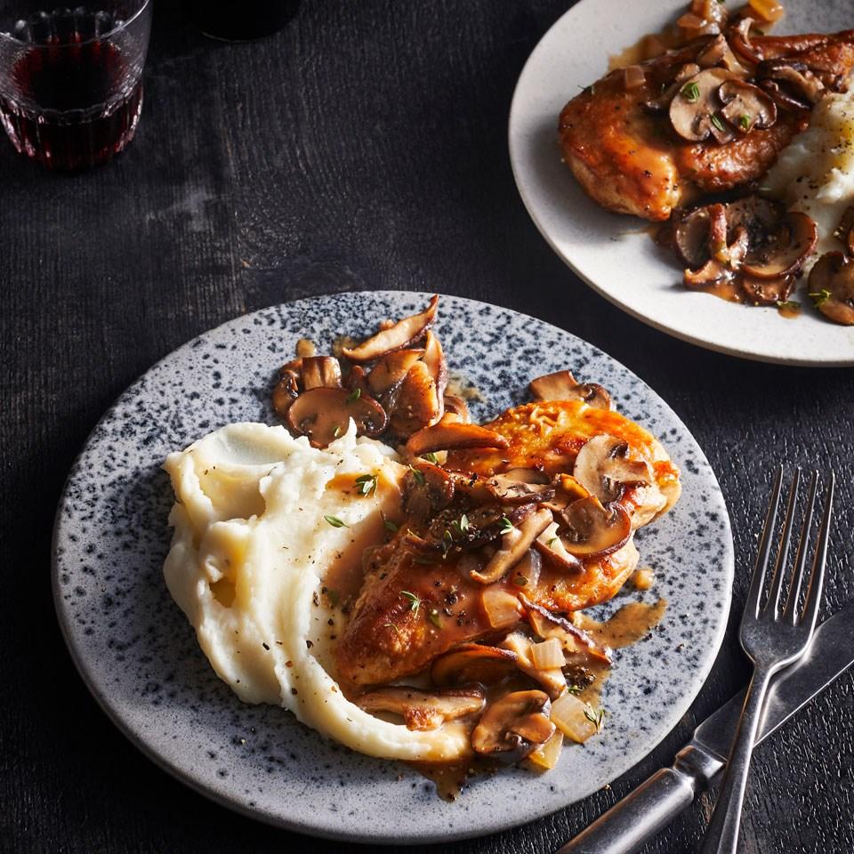Chicken-&-Mushroom Marsala