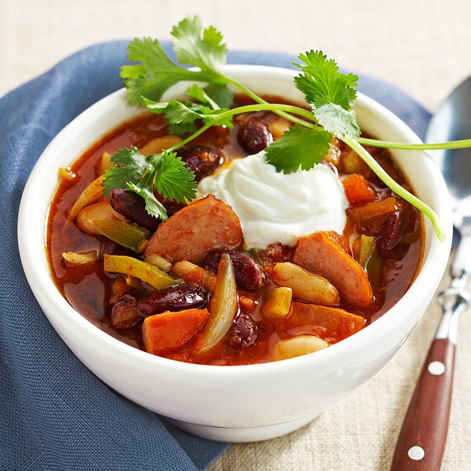 BBQ Bean Chili