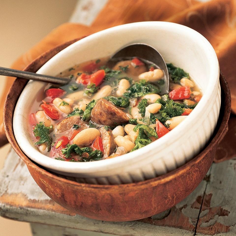 White Bean-Sausage Soup