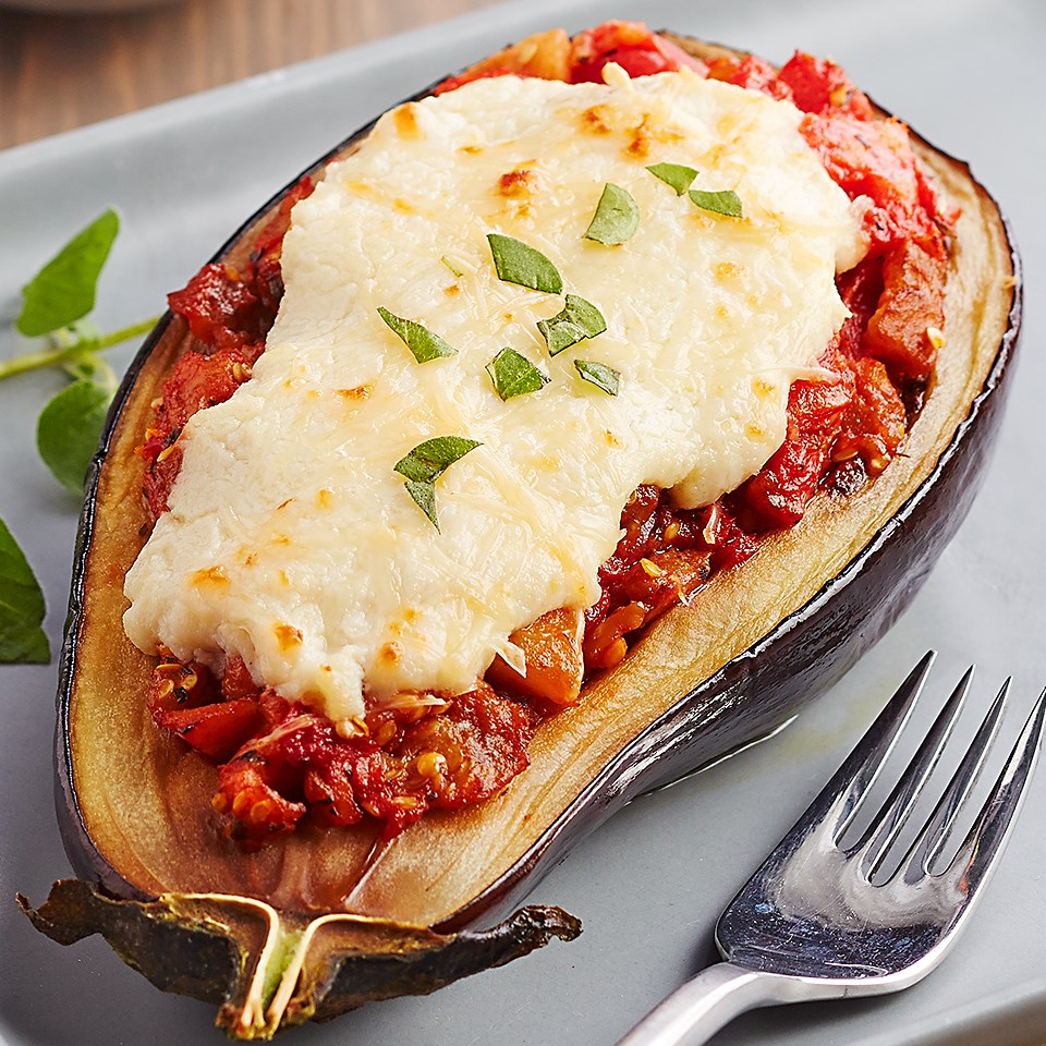 Italian-Style Stuffed Eggplant