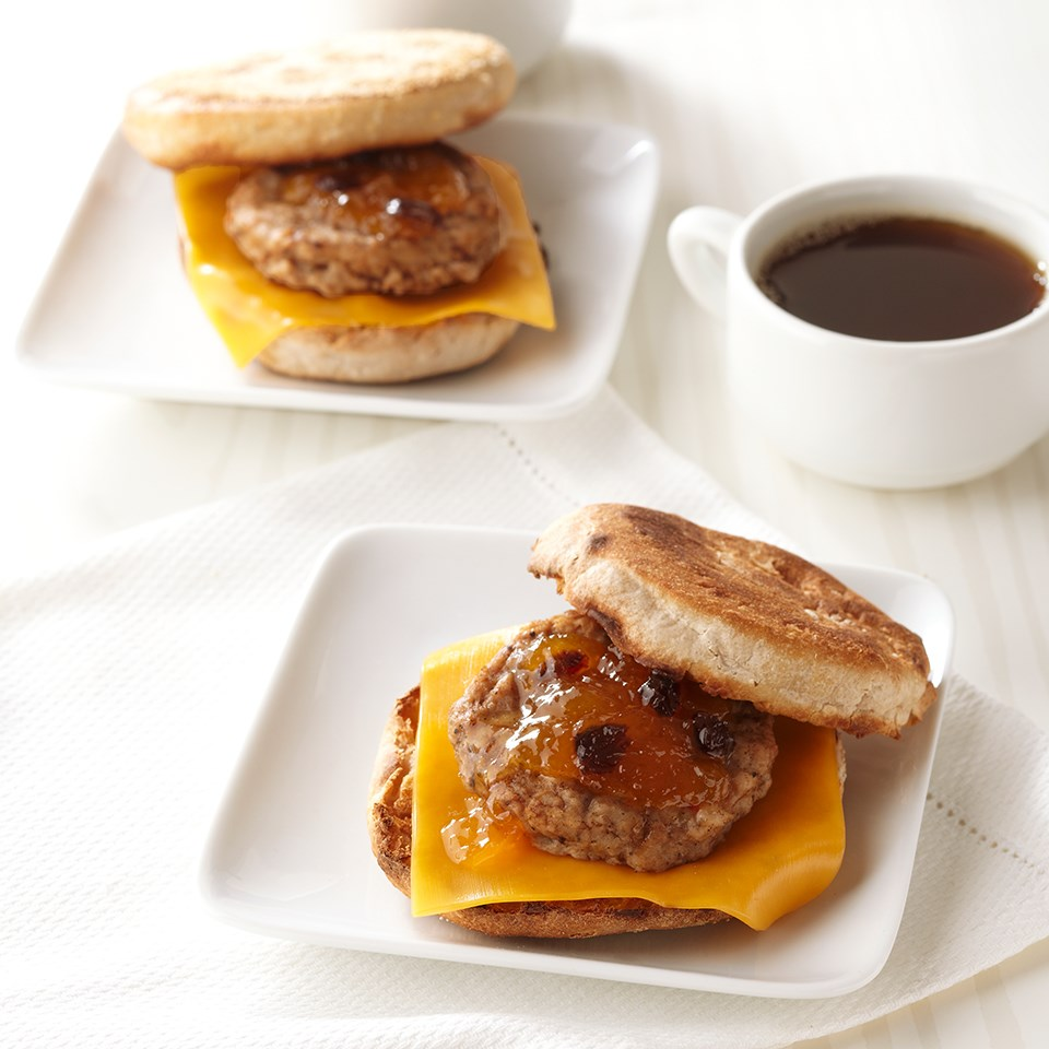 Make-&-Take Breakfast Sausage Sandwich