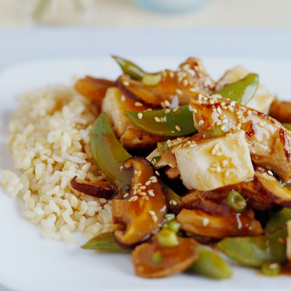 Ginger Pork with Tofu