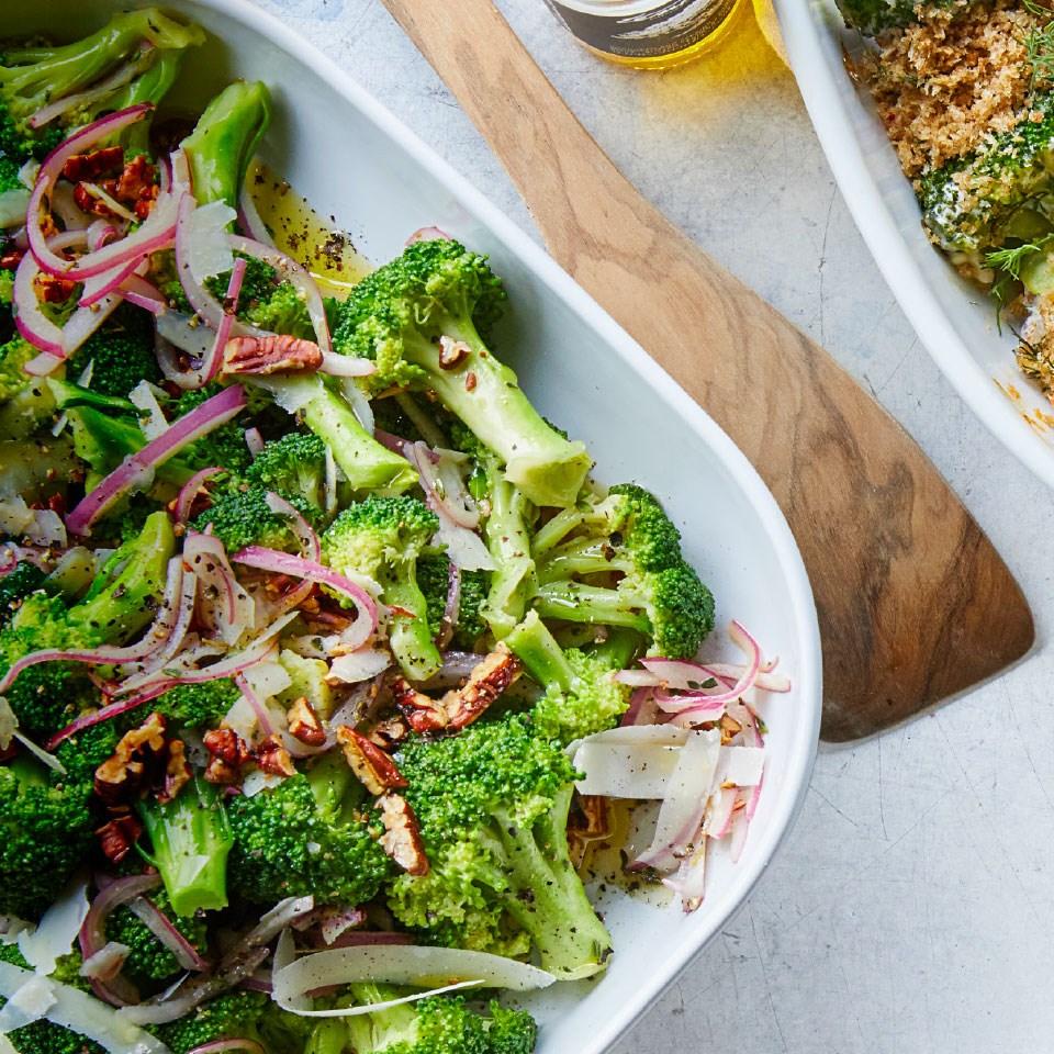 Broccoli Salad with Sherry Vinaigrette