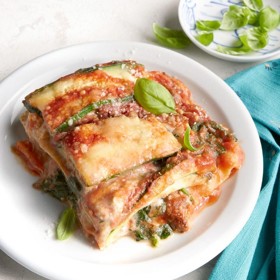 Turkey Sausage & Zucchini Lasagna