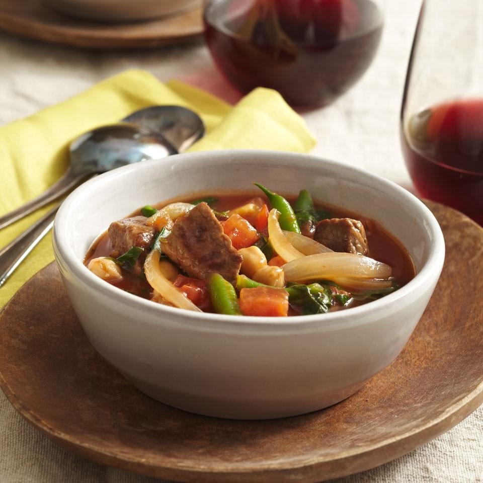 Lamb & Chickpea Stew