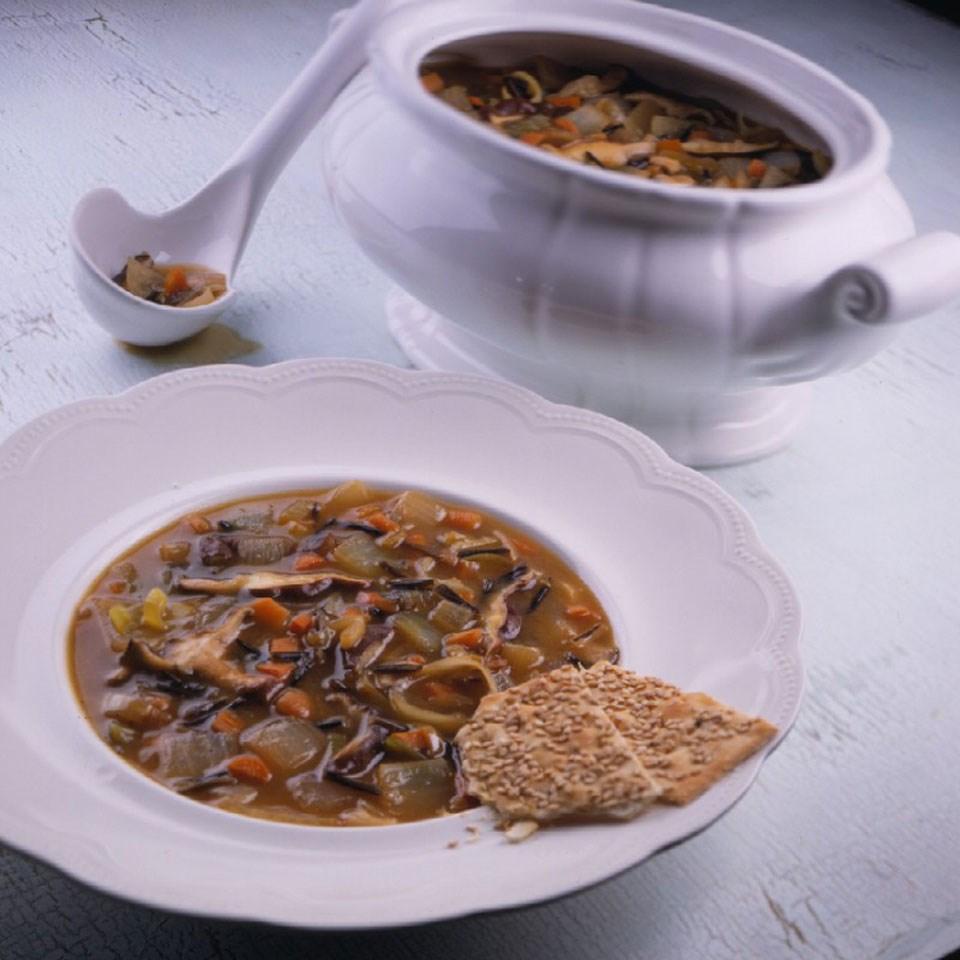 Onion & Mushroom Soup