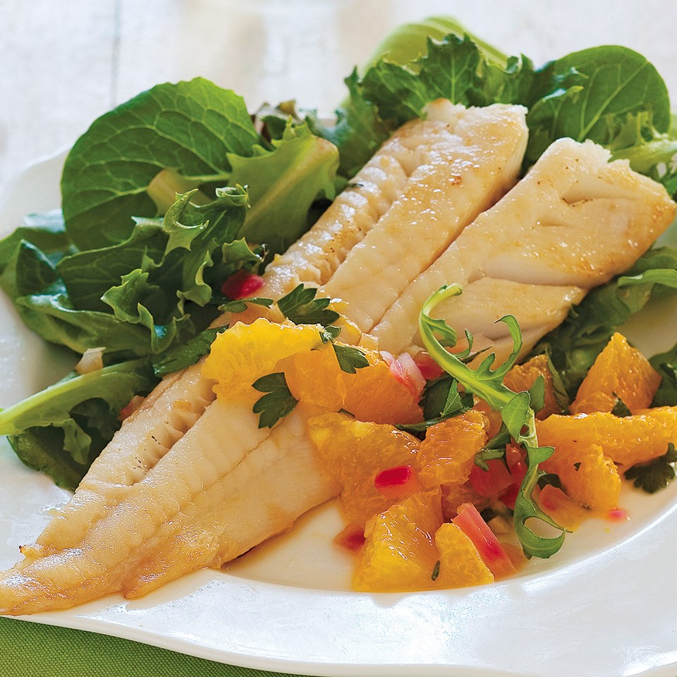 Fish with Tangerine Relish