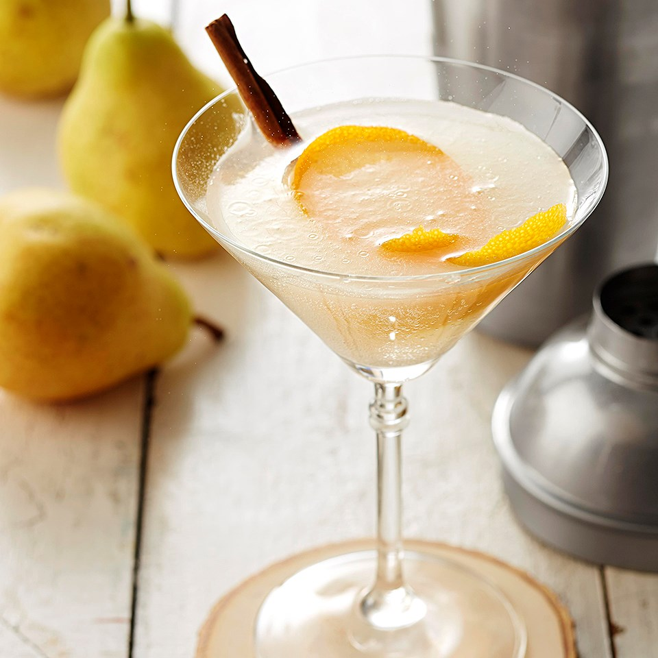 Orange Pear-tini