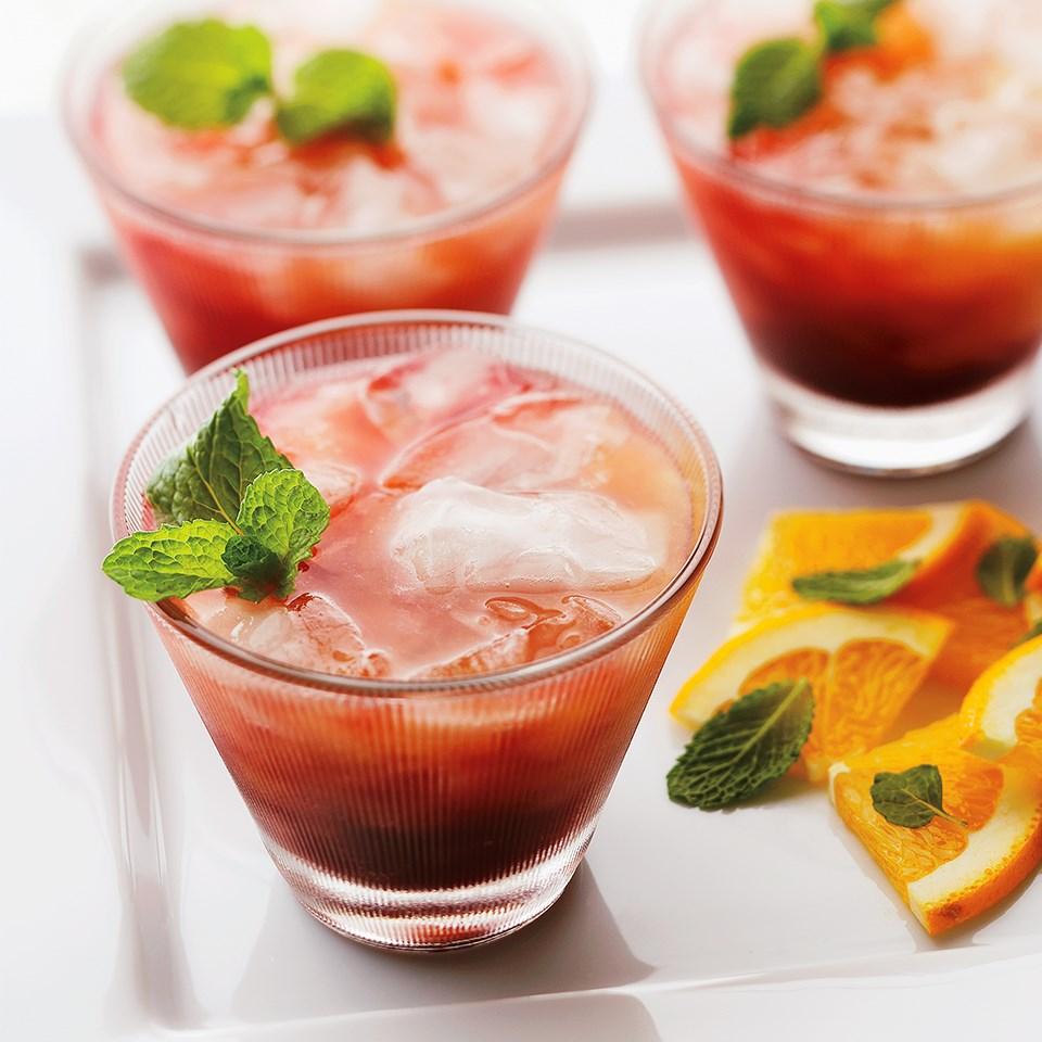 Peach Sunrise Refresher