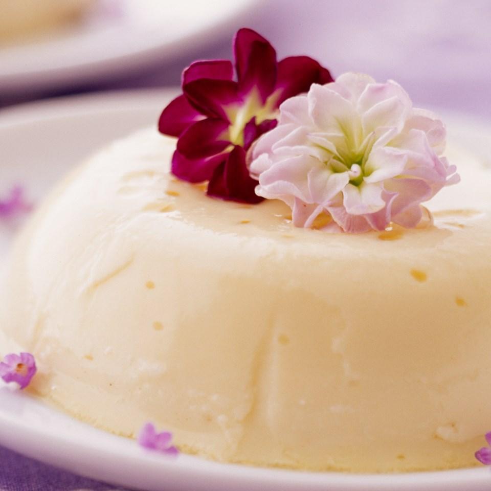 Lemon-Lavender Custards