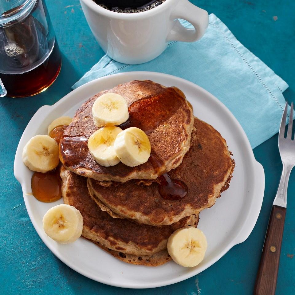 Buttermilk-Oatmeal Pancakes