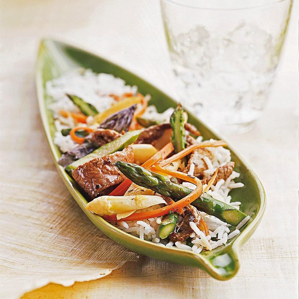 Beef-Asparagus Sauté