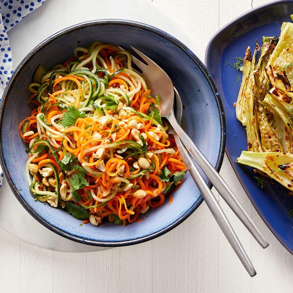 Vietnamese Cucumber Noodle Salad
