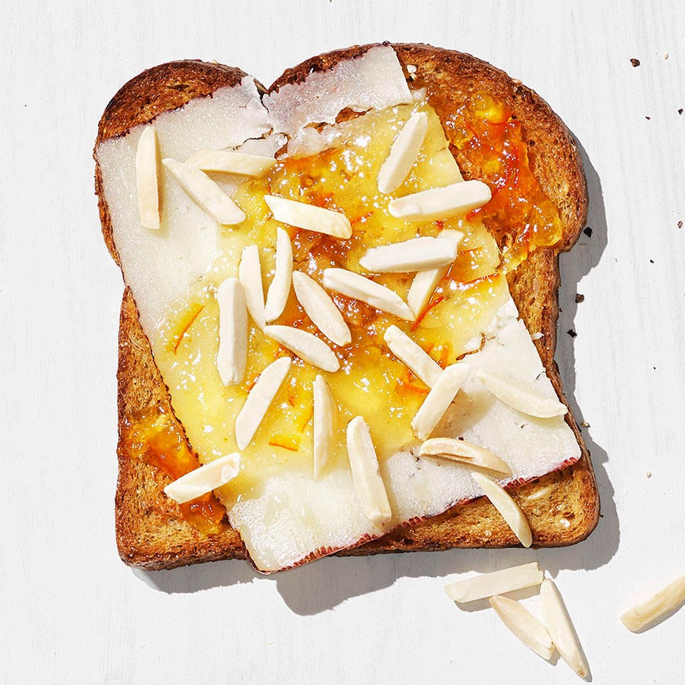 Orange & Manchego Toast