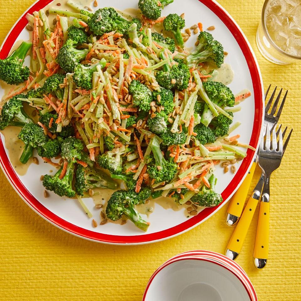 Green Goddess Broccoli Salad