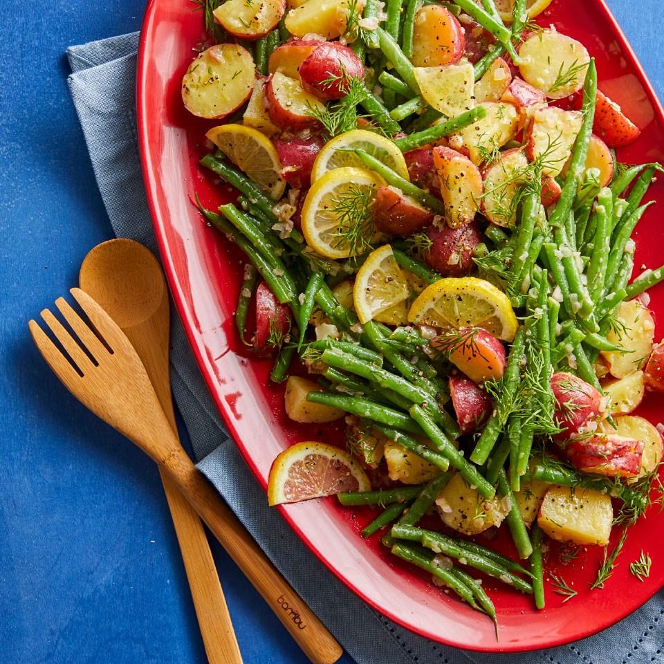 Lemon-Dill Green Bean & Baby Potato Salad