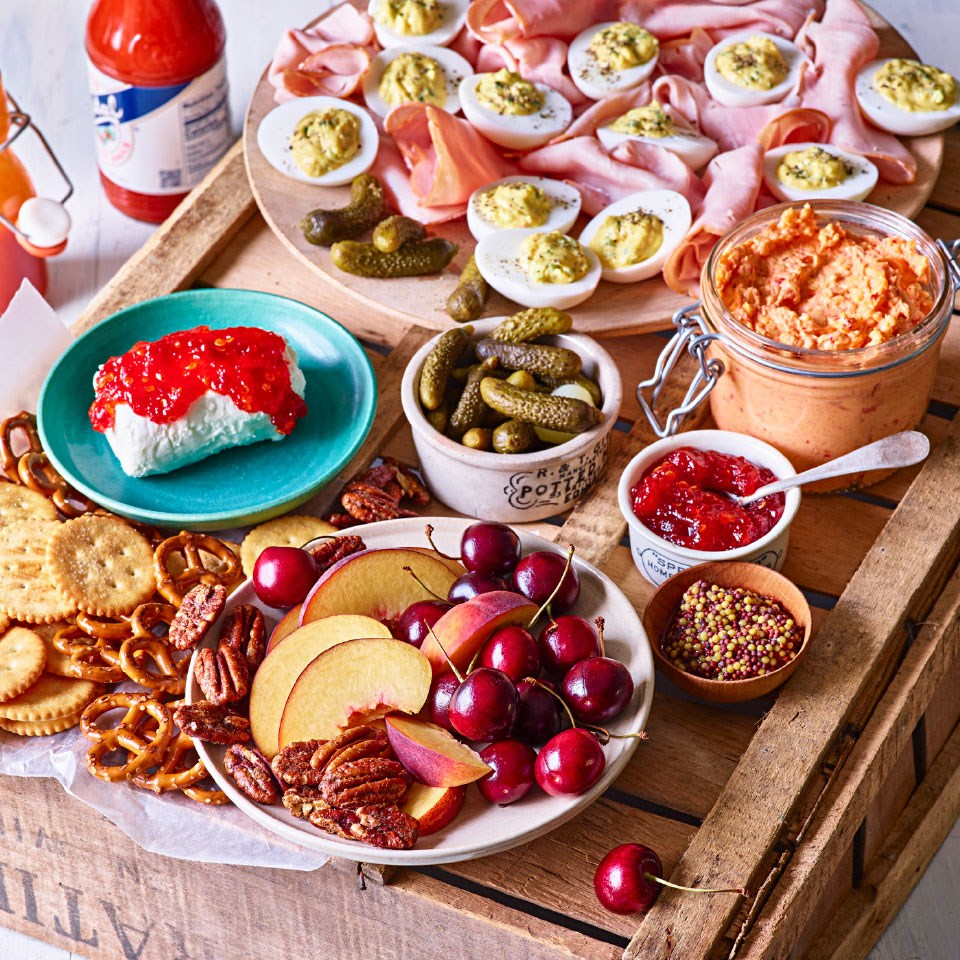 Classic Southern Appetizer Board
