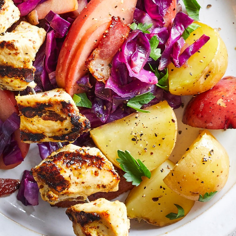 Packet-Grilled Potatoes