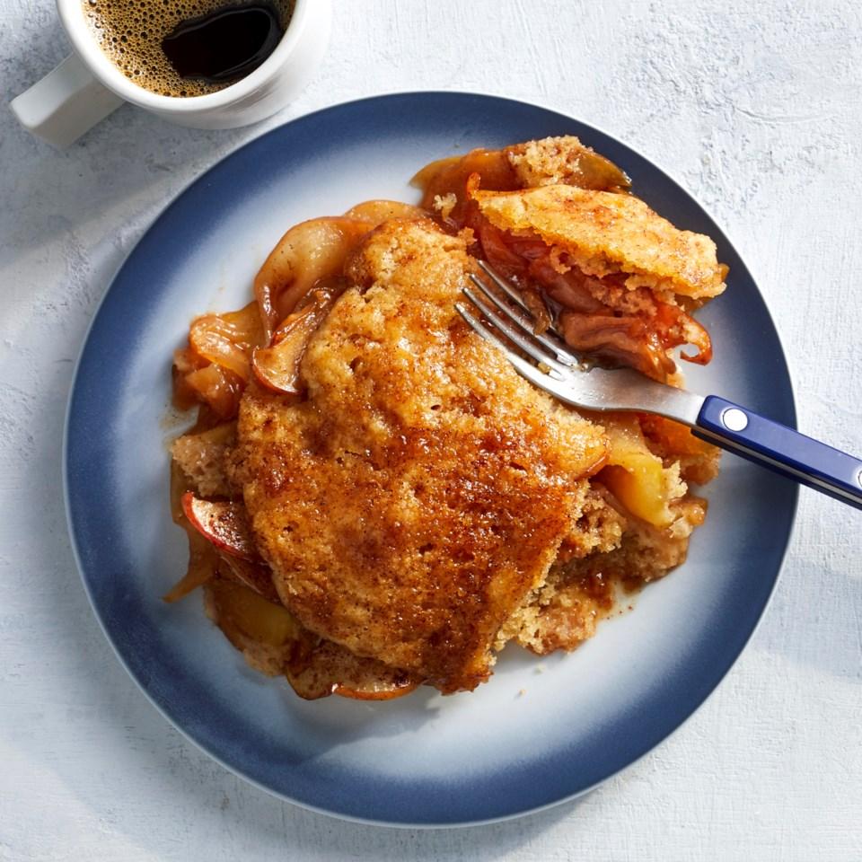 Slow-Cooker Apple Cobbler Recipe