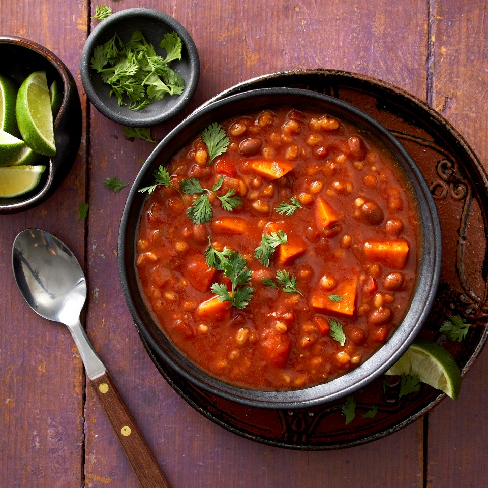 Sweet Potato & Barley Chili Recipe