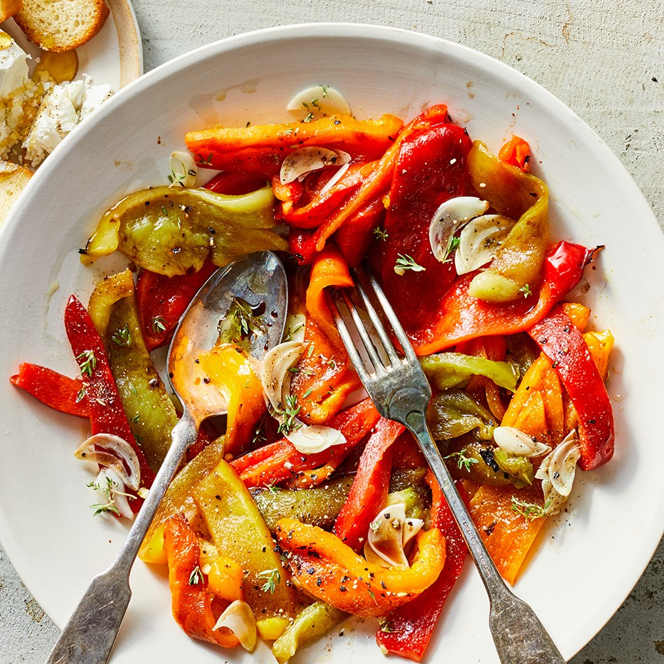 Basic Grilled or Roasted Peppers