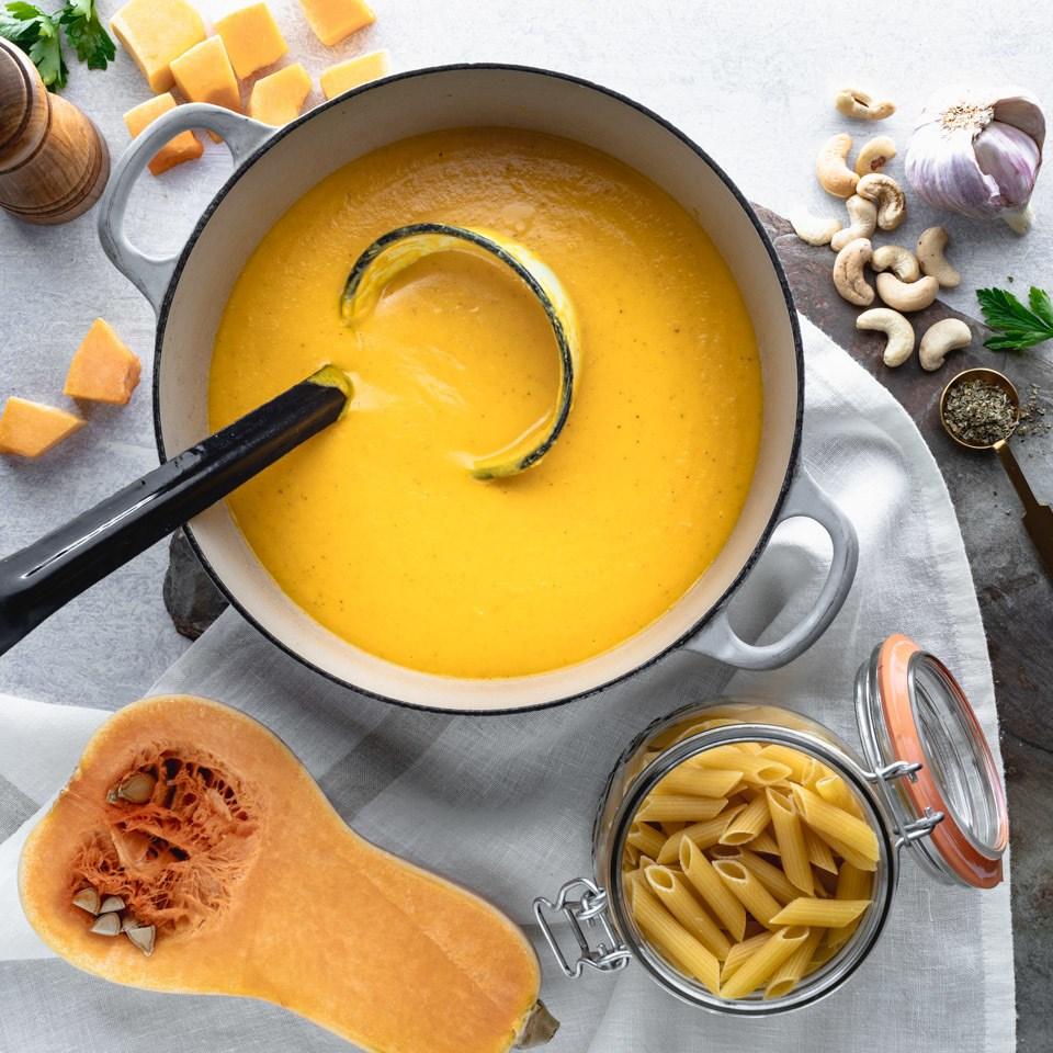 Vegan Butternut Squash Pasta Sauce