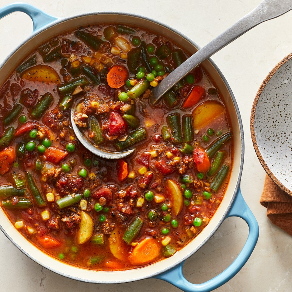 Clean-Out-the-Fridge Vegetable Stew