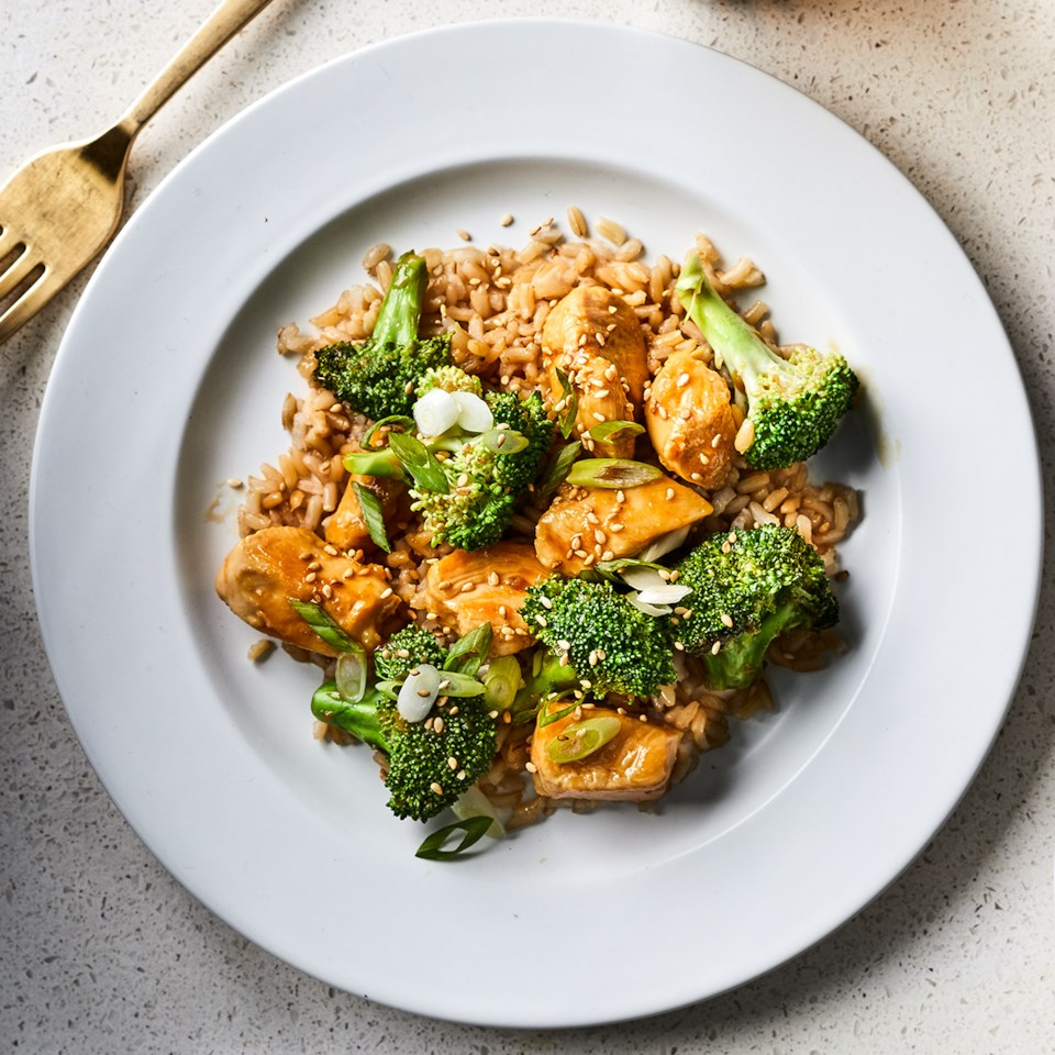 Gluten-Free Teriyaki Chicken with Broccoli Recipe