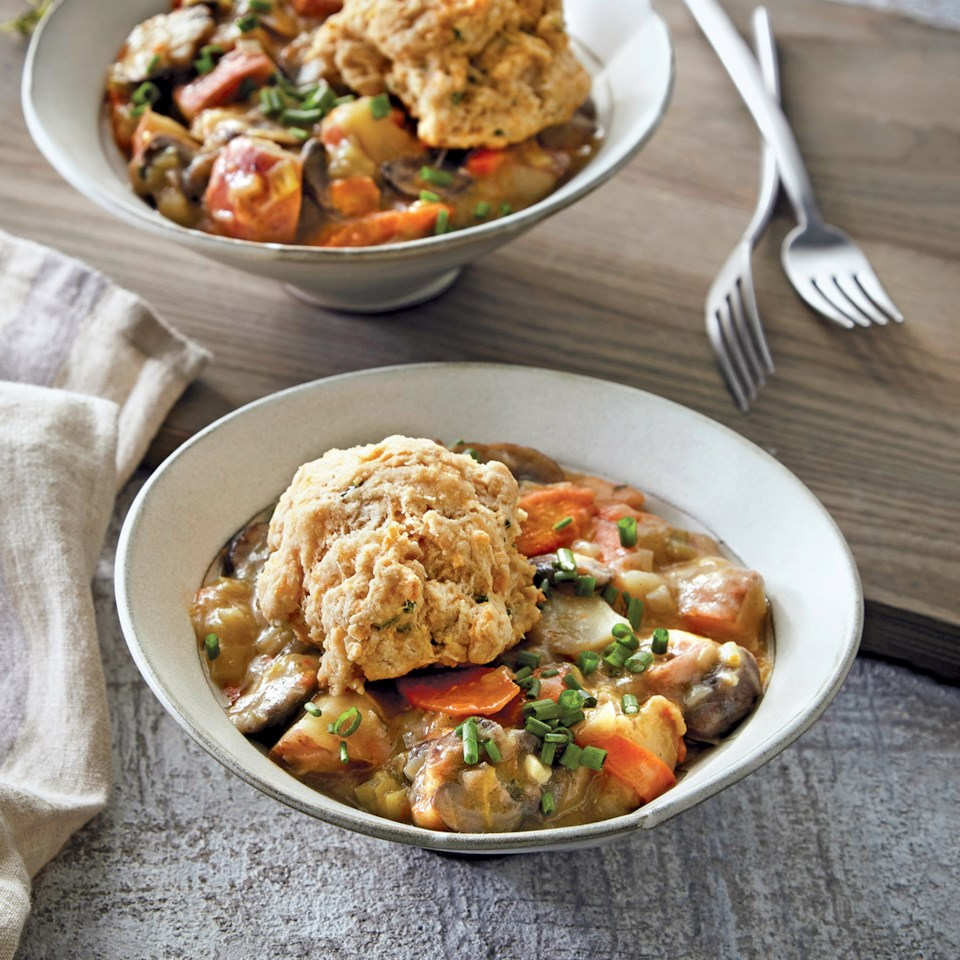 Slow-Cooker Vegetable Pot Pie Recipe