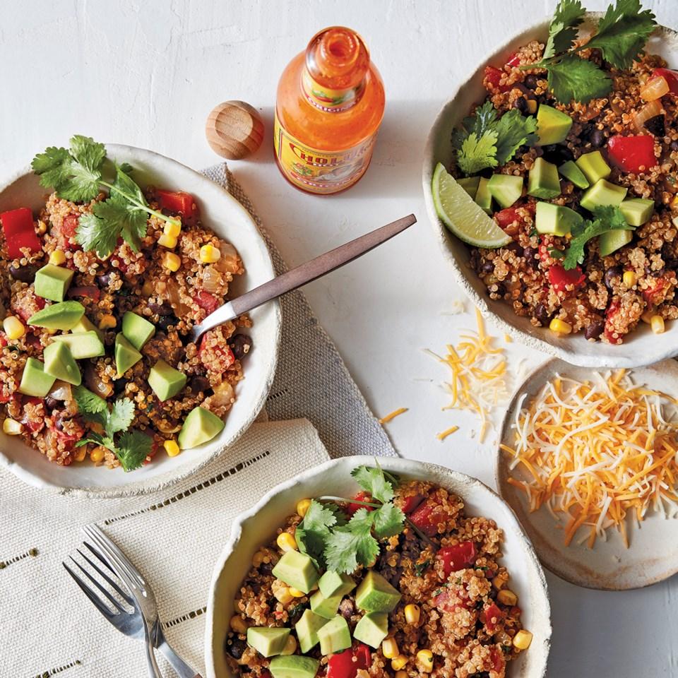 Slow-Cooker Southwest Quinoa Bowls Recipe