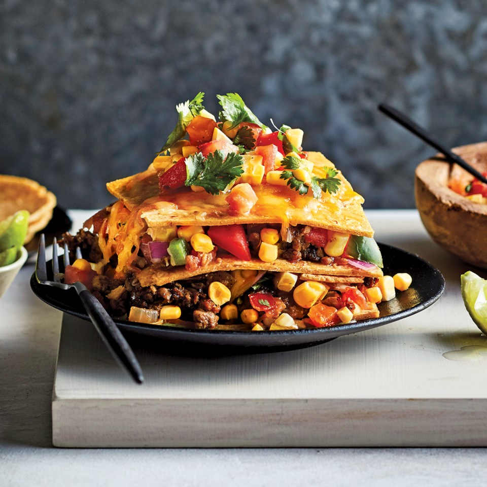 Slow-Cooker Vegetarian Tex-Mex Casserole Recipe