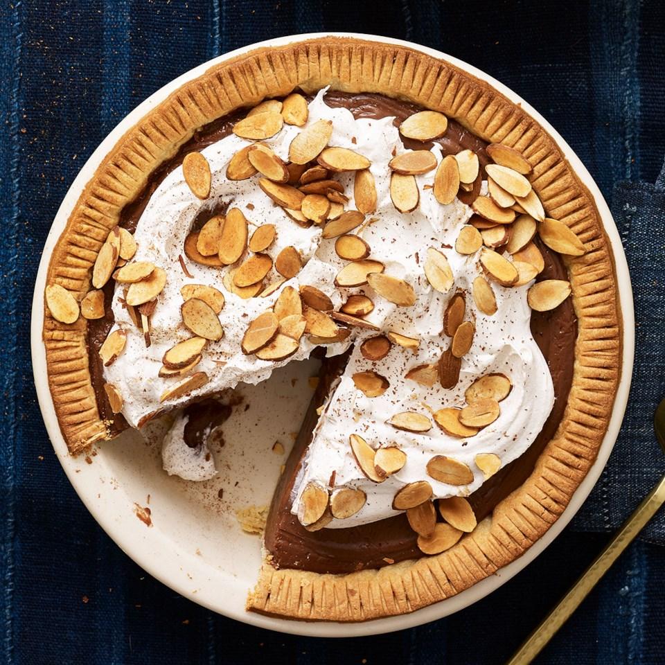 Chocolate Amaretto Pie