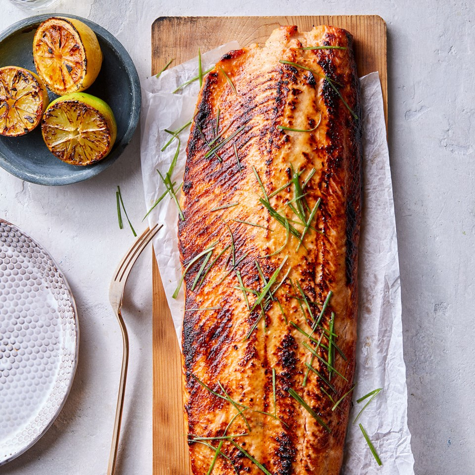 Miso-Maple Salmon Recipe