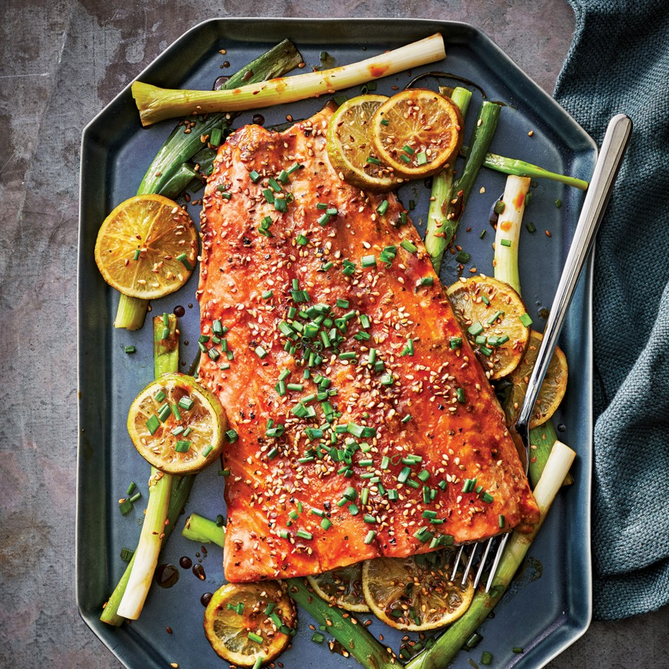 Slow-Cooker Miso-Black Pepper Salmon Recipe