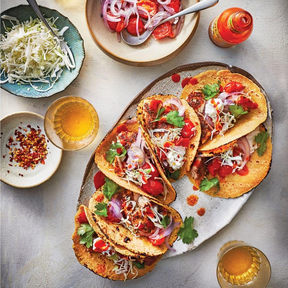 Slow-Cooker Mahi-Mahi Tacos Recipe